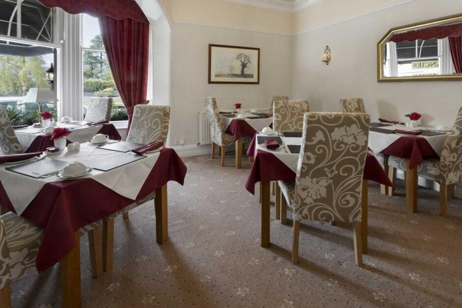 Beechwood dining room